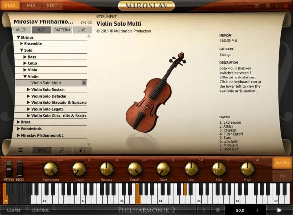 Details about New IK Multimedia Miroslav Philharmonik 2 Orchestral  Collection Plug-in MAC PC