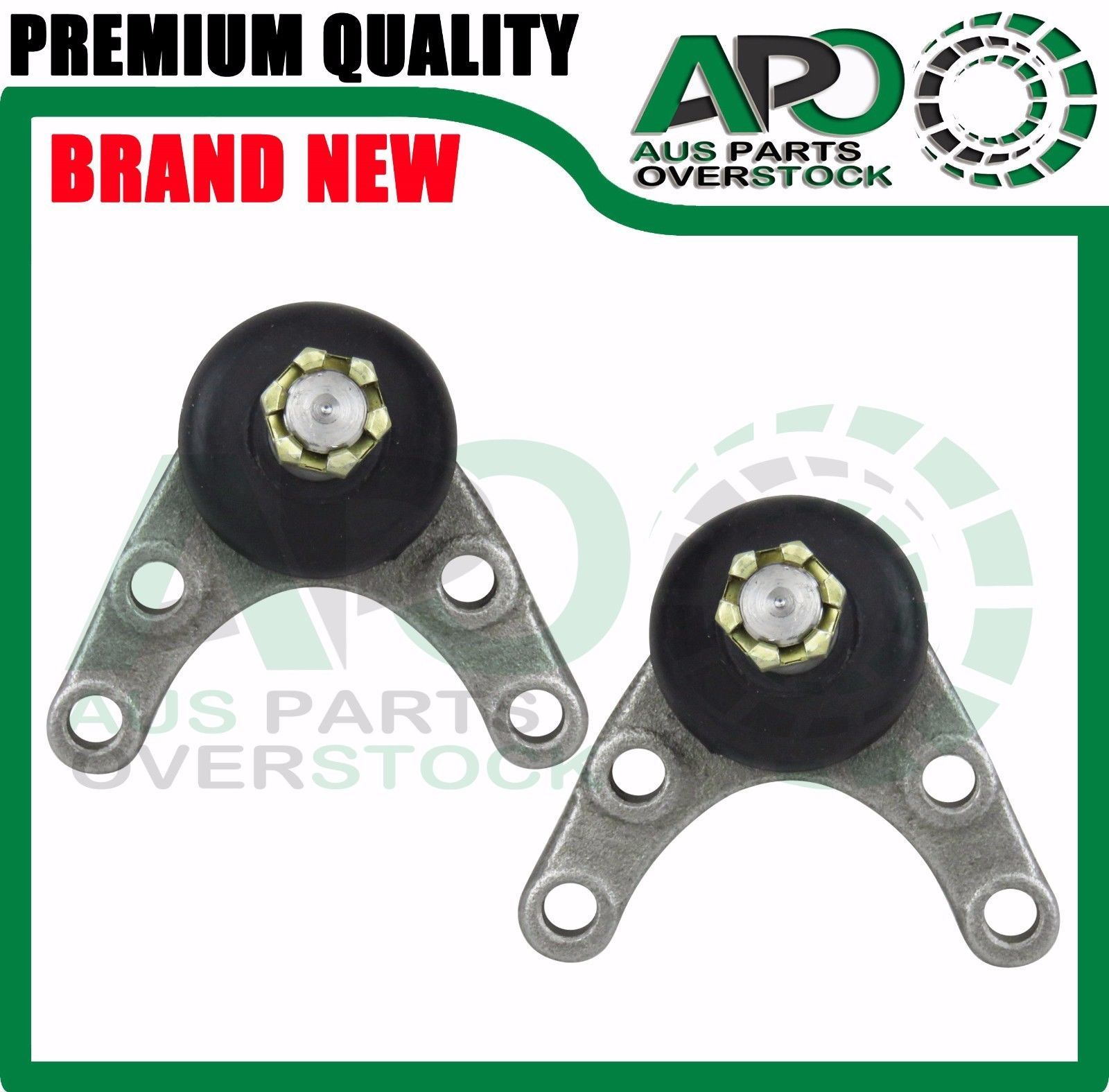 2 Upper Ball Joints fits Ford Courier 4WD PC PD PE PG PH 1987-2005 4X4