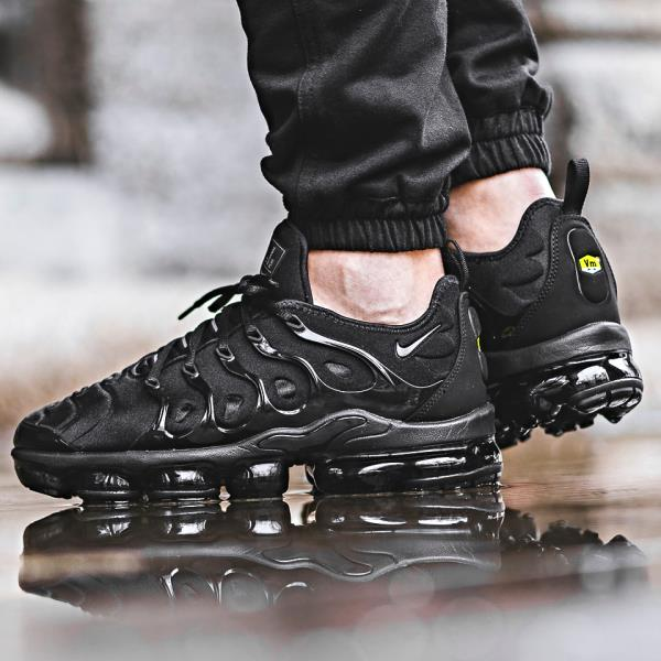 separation shoes 9e8aa fe373 Details about NIKE AIR MAX PLUS TN vapormax triple Black Sz 7-13 Mens Shoes  jordan 924453-004