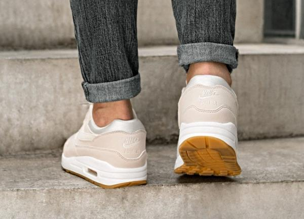 Details about Nike Air Max 1 Sneakers Desert Sand Size 6 7 8 9 Womens Shoes New