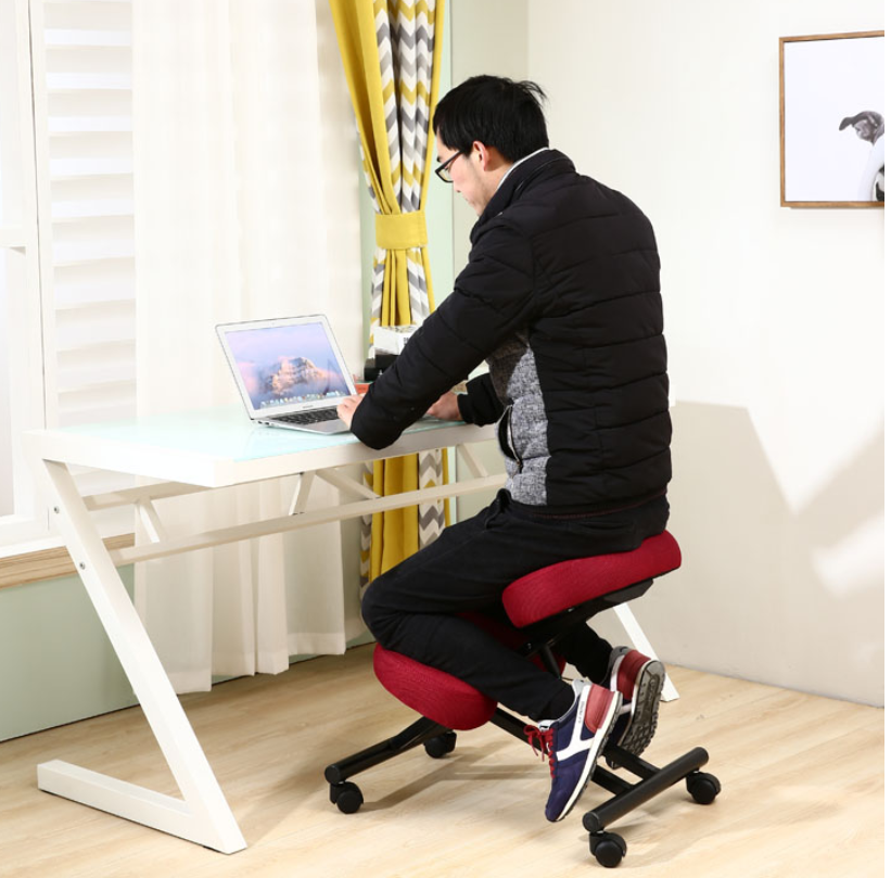Ergonomic home office Setting Details About Wooden Furniture Ergonomic Kneeling Posture Home Office Chair Black Or Burgundy Stresslesscom Wooden Furniture Ergonomic Kneeling Posture Home Office Chair Black