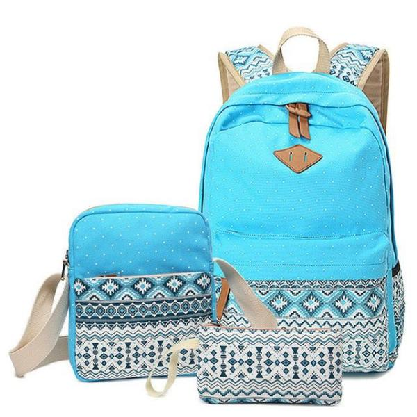 fd3816fc57 Lining Material  Polyester Backpacks Type  Softback Gender  Women Backpack  Usage  Daily Backpack Color   Sky blue