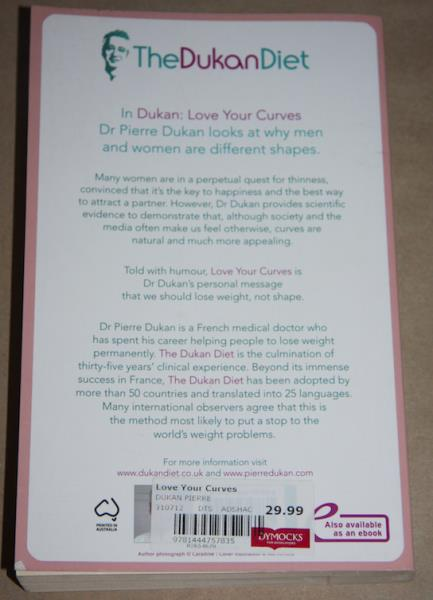 Love Your Curves: Dr Dukan Says Lose Weight, Not Shape (Dukan Diet)