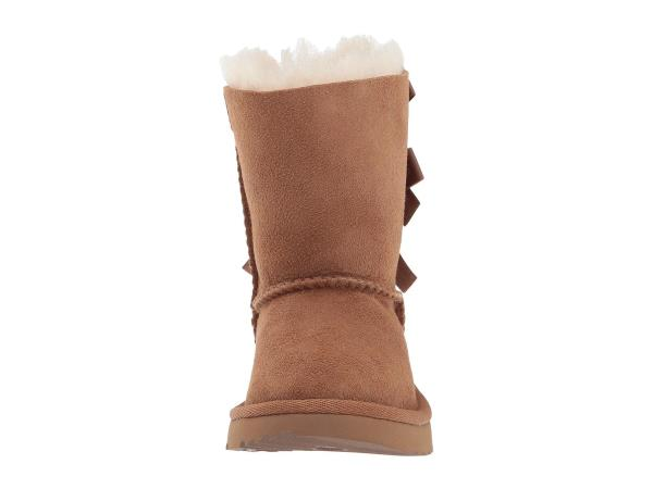 5ef02615938 Details about UGG Bailey Bow II 1017394T/CHE Chestnut Toddler - Youth Boot