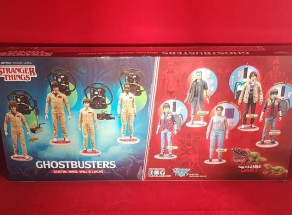 Des choses bizarres Ghostbuster Deluxe Pack 4 McFarlane Toys