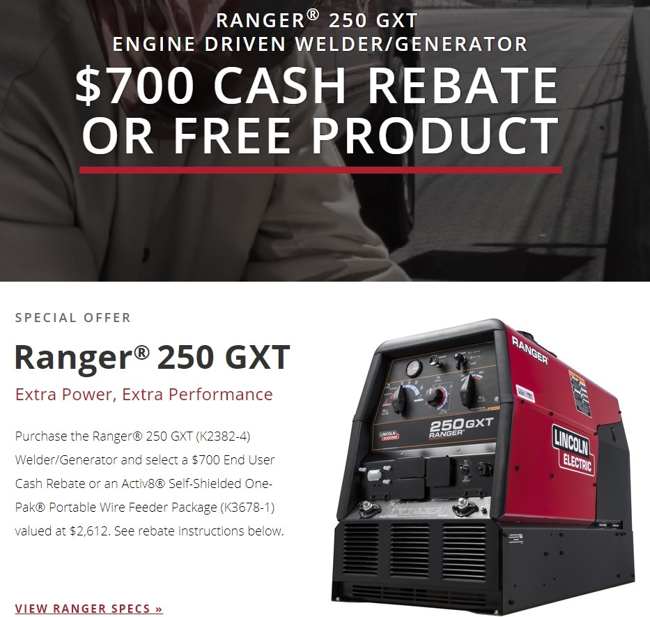 Lincoln Ranger 250 Gxt Engine Drive Welder K2382 4 Ebay And Generator Parts California To Cause Cancer Carbon Monoxide 630 08 0 Which Is Known The State Of Birth Defects Or Other Reproductive Harm