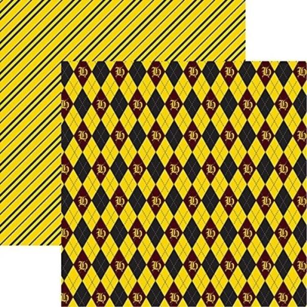 Harry Potter Wizards 101 Plaid 1 12x12 Scrapbook Papers By