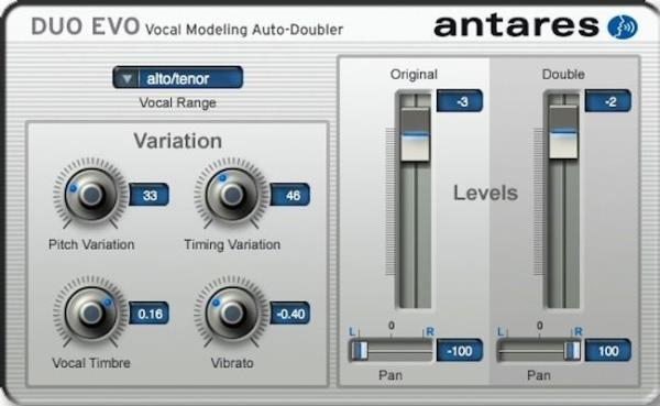 Details about New Antares DUO EVO Vocal Modeling Auto-Doubler Mac PC Plugin  AAX AU VST RTAS