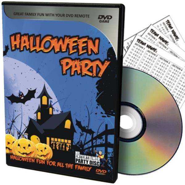 Details about Mr Entertainer Halloween PartyDisc Interactive DVD - Quiz,  Music, Karaoke, Fun