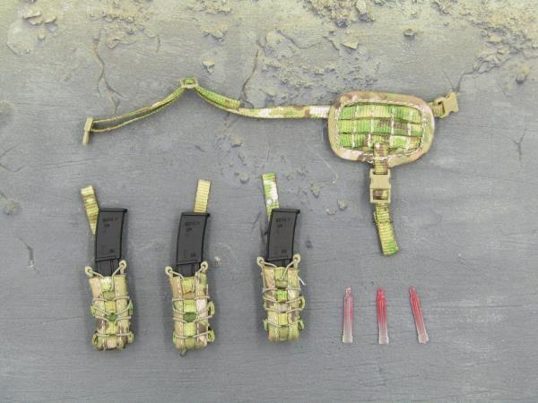SEAL Team SF MP7 Mags /& Pouches #1-1//6 Scale Mini Times Action Figures