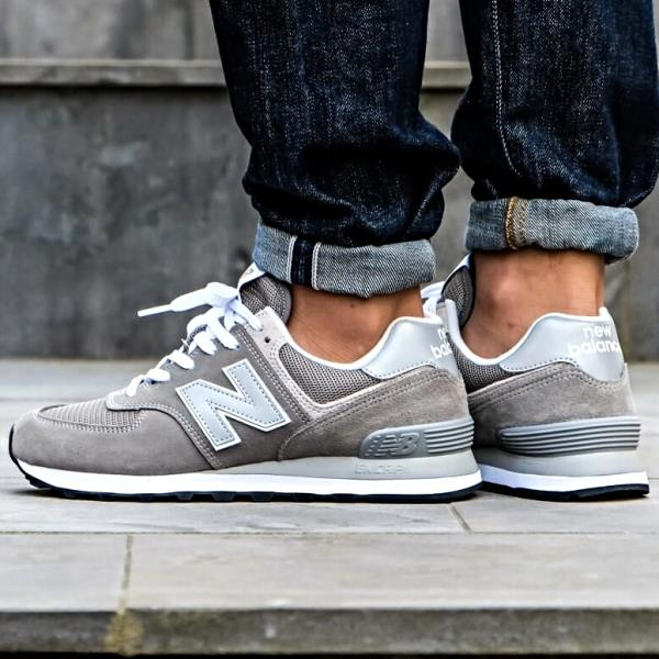 8da58b2470437 Details about New Balance ML574 EGG Trainer Sneakers Grey Size 8 9 10 11 12  Mens Shoes New