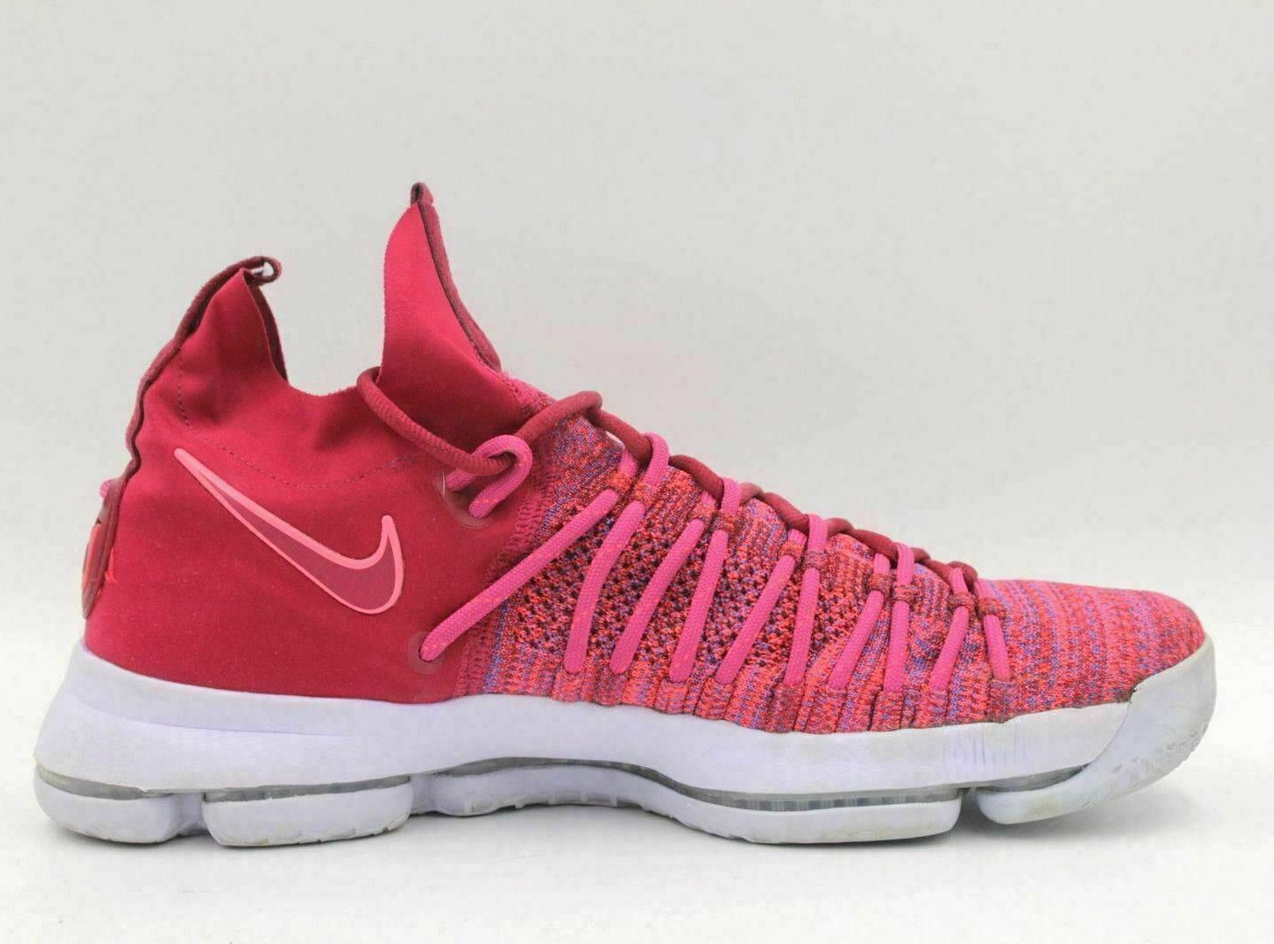 low priced 8cec9 8c2b3 Details about NIKE Zoom KD 9 Elite Wanda Durant MVP Men Basketball Shoes  Size 11 878637-666