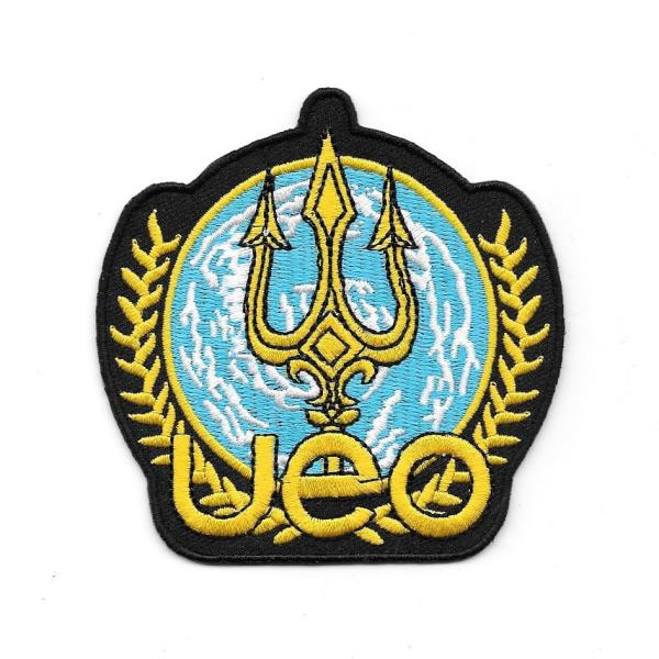 Seaquest Commander Blue Shoulder Embroidered Iron on Patch