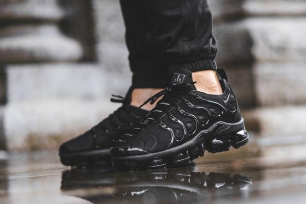 separation shoes 5c3a3 65788 Details about NIKE AIR MAX PLUS TN vapormax triple Black Sz 7-13 Mens Shoes  jordan 924453-004