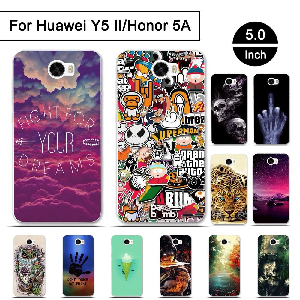 new style e2bcd 0011a Details about Case For Huawei Y5 II Honor 5A Cover Soft TPU Phone Cases