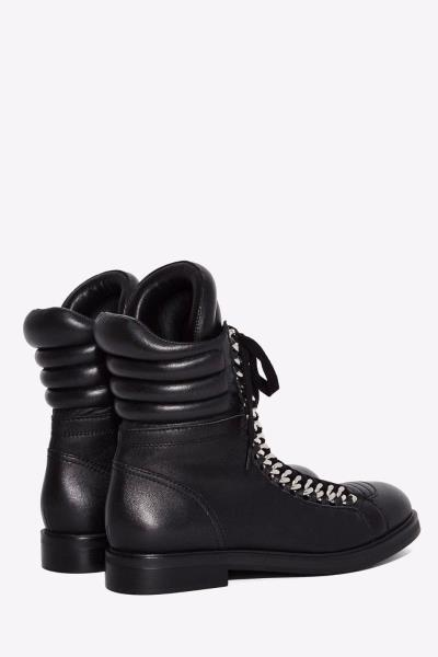 Lust For Life Oasis Women/'s BORDEAUX Leather Combat Millitary Moto Ankle Boot