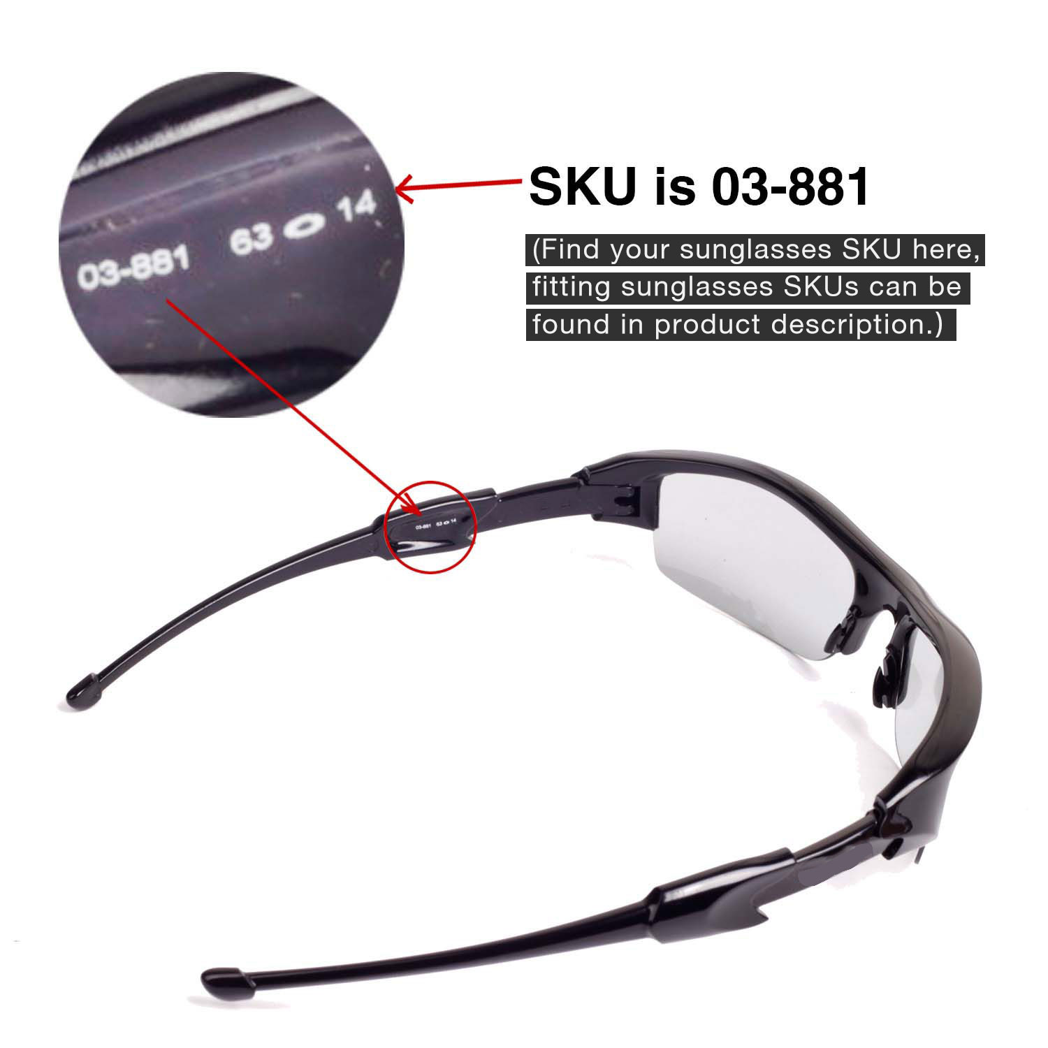 46244e8bf75 POLARIZED Replacement Lenses+Rubber Ear kit for-OAKLEY Flak jacket ...