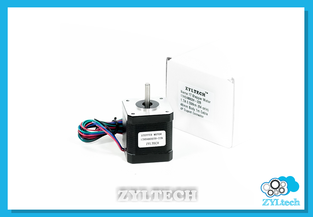 US Shipping 3X Nema17 Stepper Motor 1.7 A 0.59 Nm 84 ozin for 3D printer and CNC