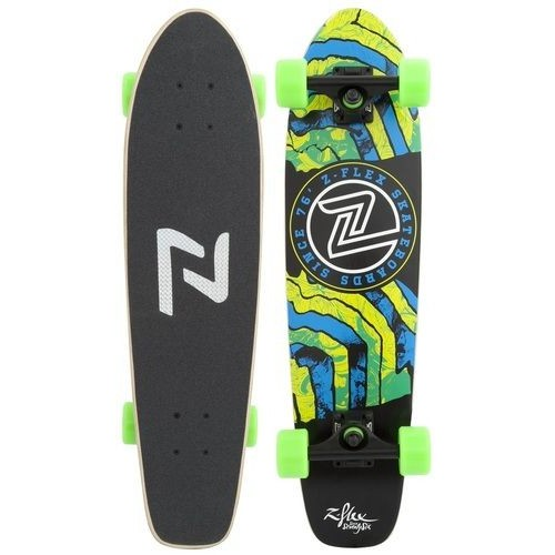 Z-Flex Skateboard Complete Delerium Green Zflex Cruiser Z Flex FREE POST