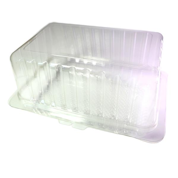 BPA-Free Clear Hinge Disposable Plastic Food Container w//Clamshell 50pcs 100pcs