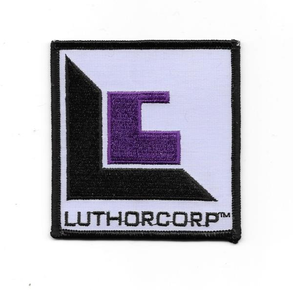 Smallville Tv Series Luthorcorp Logo Embroidered Patch Superman New