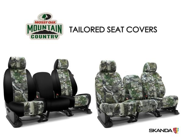 Mossy Oak Seat Covers >> Details About Skanda Mossy Oak Mountain Country Camo Front Seat Covers For Chevy Colorado