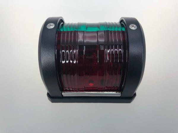 Marine Boat LED Green /& Red Comb Bow Navigation Lt Surface Mount Black