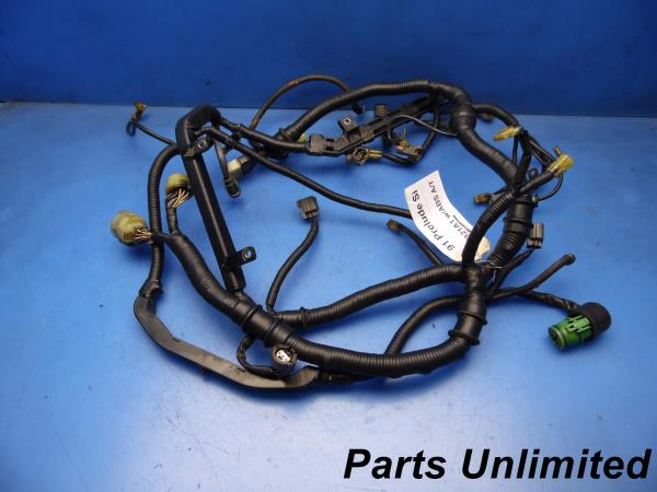 9091 Honda Prelude Oem Engine Motor Wiring Harness Loom Factory Si At B21a1: 1990 Honda Prelude Wiring Harness At Sewuka.co
