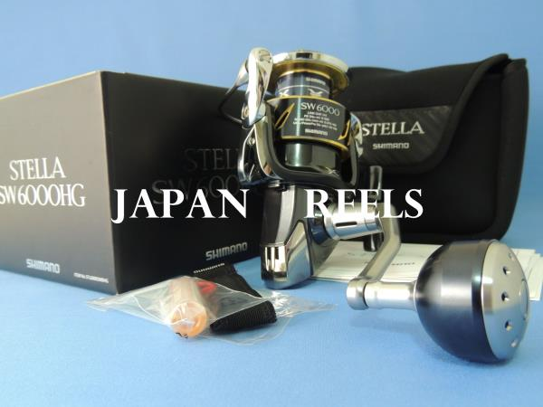 Details about NEW SHIMANO 13 STELLA SW 6000HG 6000 HG SPINNING REEL *1-3  DAYS FAST DELIVERY*