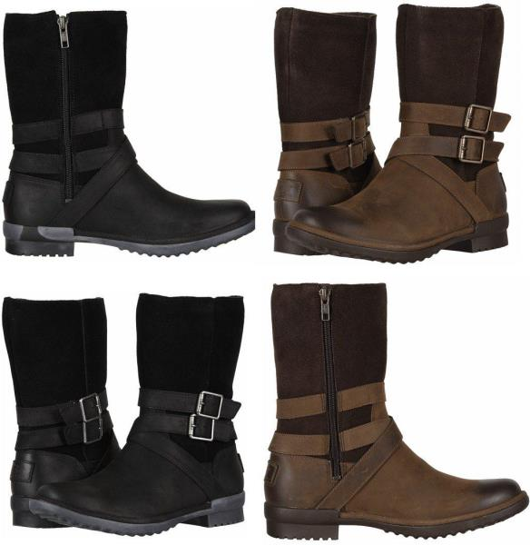 910622799b1 Details about UGG Women's Lorna 1095155 Waterproof Leather Boot