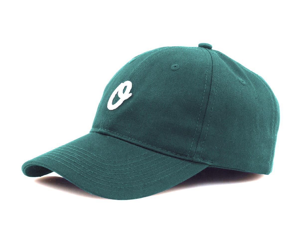 Official Cap Miles Olo Sport Green 6 Panel Unstructured Strapback Skateboard Hat OSFM CFREE POST New