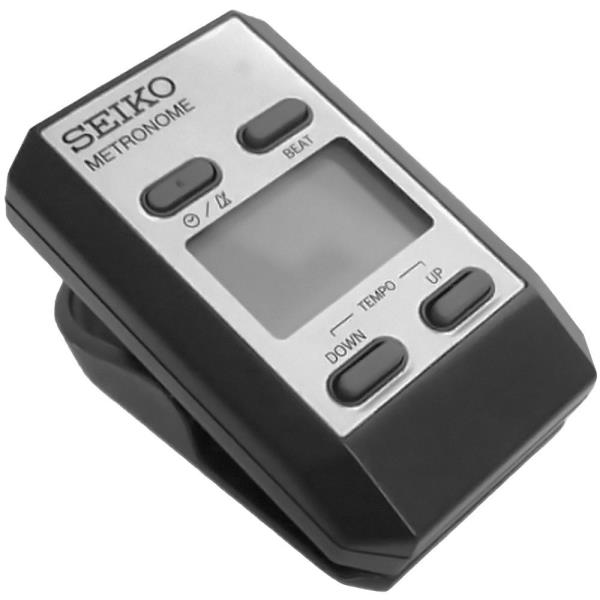Details about NEW SEIKO DM51S SILVER CLIP-ON DIGITAL METRONOME TO KEEP  TEMPO + FREE SHIPPING