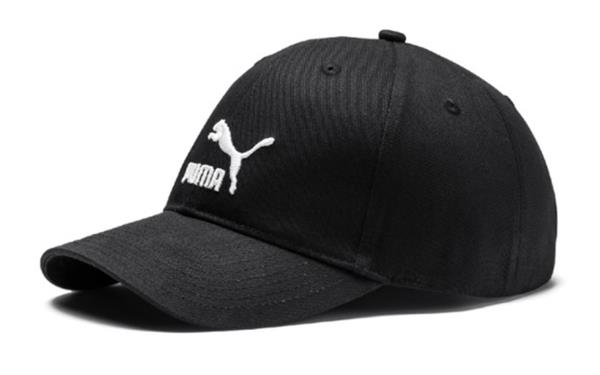9548df336ab PUMA ARCHIVE LOGO BB Tennis Caps Hat Black Unisex Casual Head-wear ...