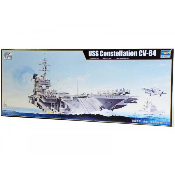 trumpeter 1 350 05620 uss constellation cv