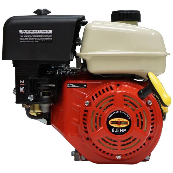 Details about New 6 5HP 6:1 Gear Reduction Gas Engine Cement Mixer Side  Shaft Pull Small Motor