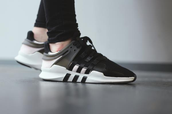 adidas running shoes women adidas eqt support adv on feet
