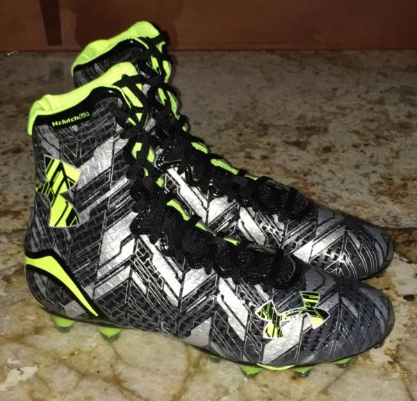 UNDER ARMOUR LAX Highlight MC Clutch Fit TD Molded Lacrosse Cleats Mens Sz 11