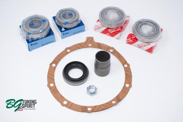 Details about AE86 Koyo / OEM Toyota Ring and Pinion Differential Rebuild  Kit - Solid Spacer