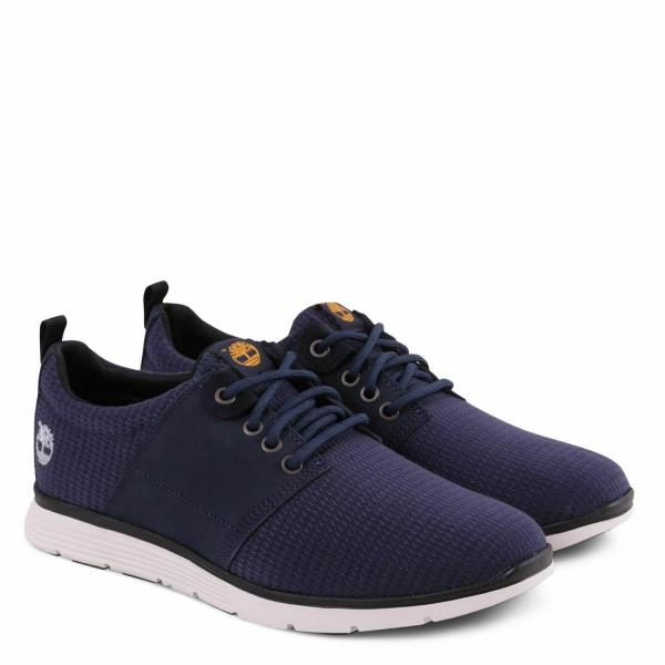 Details zu Timberland A1J51 Killington Oxford Mens Canvas Sensorflex Low Sneakers Navy Size