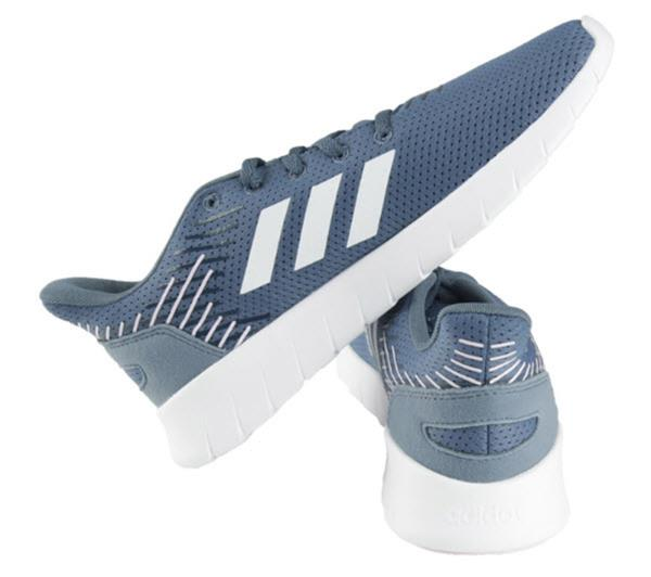 Details about Adidas Women ASWEERUN Shoes Running Blue White Casual Sneakers Boot Shoe F36341