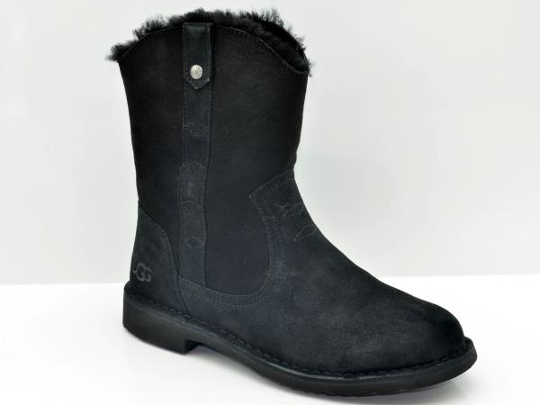 4c5204d3632 Details about UGG Larker Black 1099054/BLK Women's Sheepskin Boot