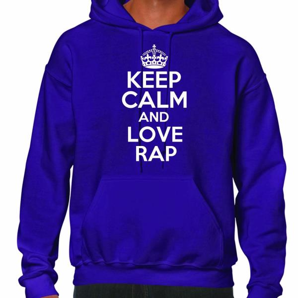 Mens Hoodie Cartoon Inspired Keep Calm And Call Batfink