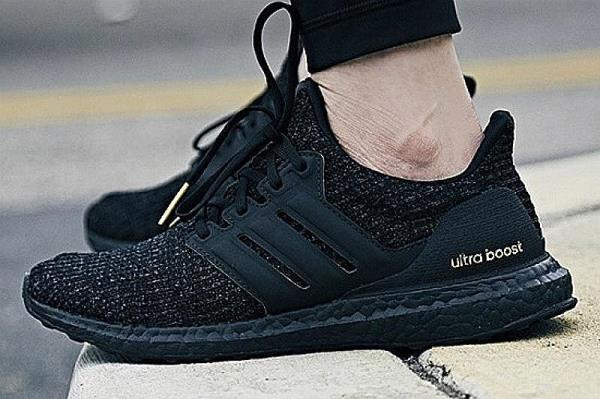 release date: 57ed8 43eff Details about Adidas Ultraboost 4.0 Triple Black Gold Size 8 9 10 11 12  Mens Shoes F36123 NMD