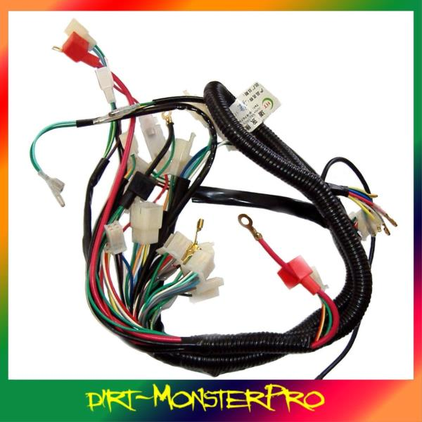 Full electrics wiring loom for 150200250300cc atomik motoworks full electrics wiring loom for 150200250300cc atomik motoworks atv quad buggy asfbconference2016 Image collections