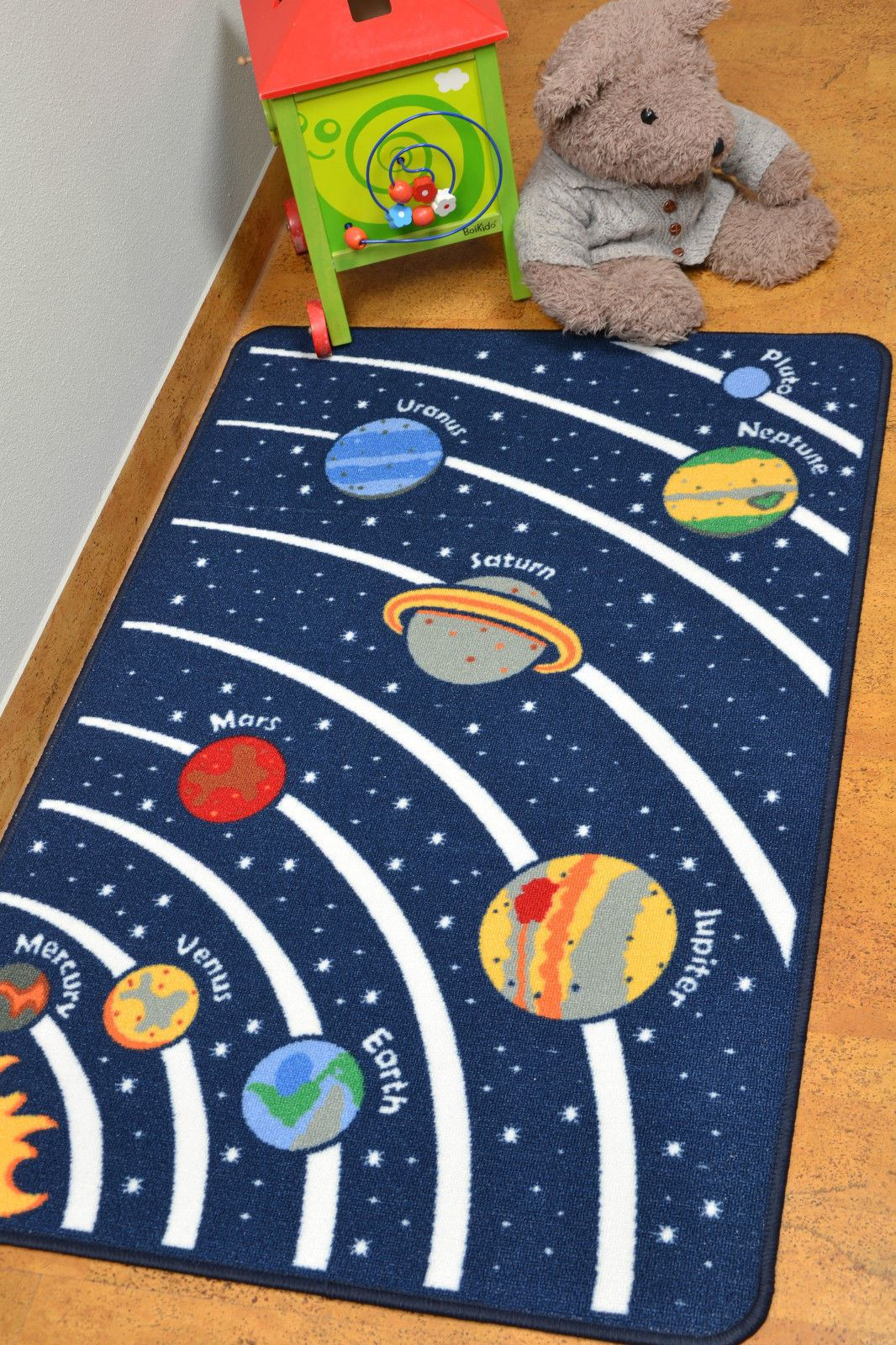 kids play mats roads farm letters children carpet educational fun floor mat rugs ebay. Black Bedroom Furniture Sets. Home Design Ideas