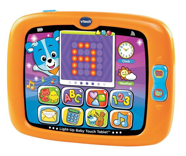 BABY TOUCH TABLET Light Up Smart Learning Activity Toy Toddler Kids Play Gift