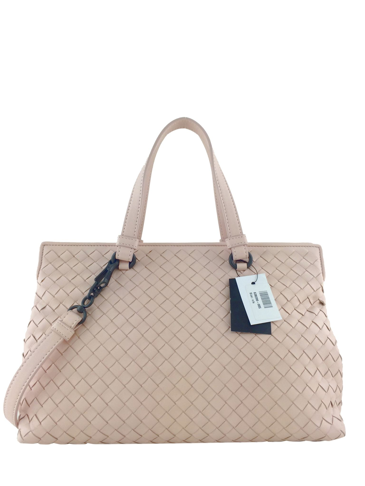 c792eddebc Details about Bottega Veneta Intrecciato Nappa Medium Top Handle Bag NEW
