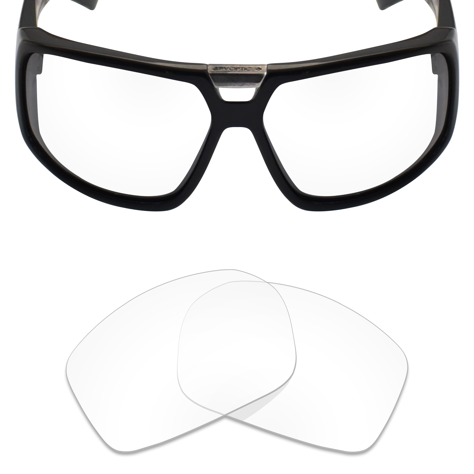 e30c9250f6 MRY Anti-Scratch Polarized Replacement Lens for Spy Optic Touring Sunglass  -Opt.