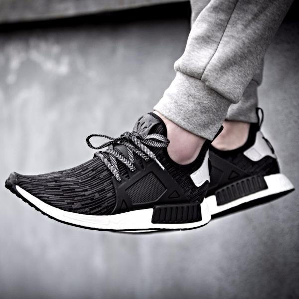 Adidas Men NMD XR1 Primeknit PK OG Black Blue Red BY1909