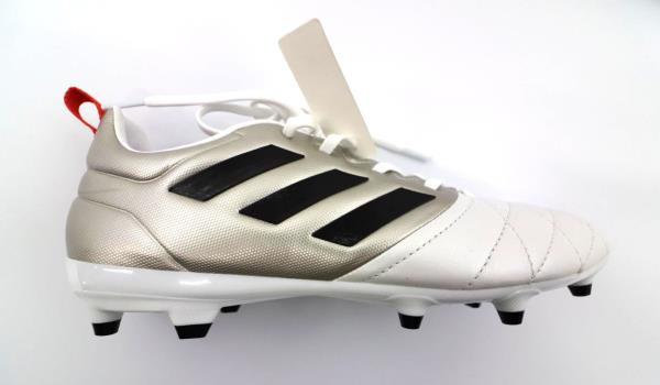 New Adidas Women's Ace 17.3 FG Soccer Cleats Size 7 White And Gold - CQ8